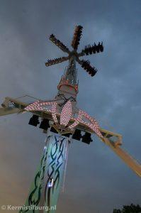 De Air van de Engelse exploitant Danter op de Tilburgse kermis
